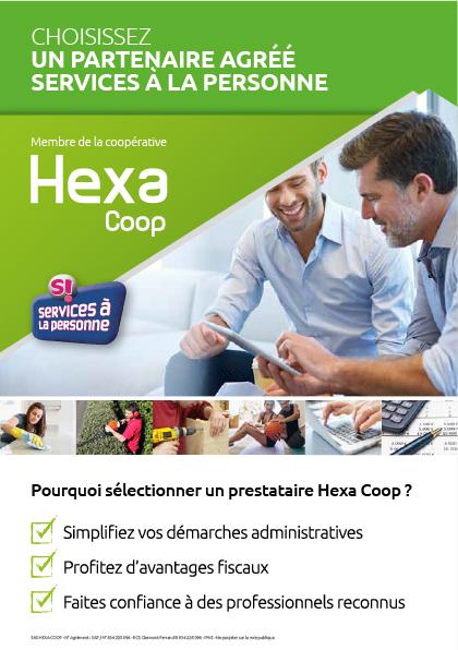 Hexa Coop Crédit d'impôt
